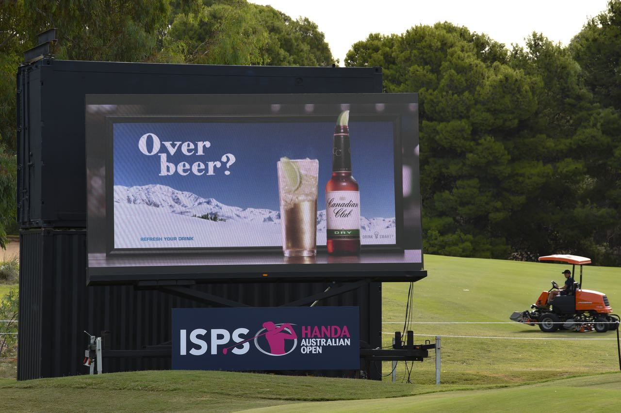 LED Screens can also be used for advertising and branding purposes