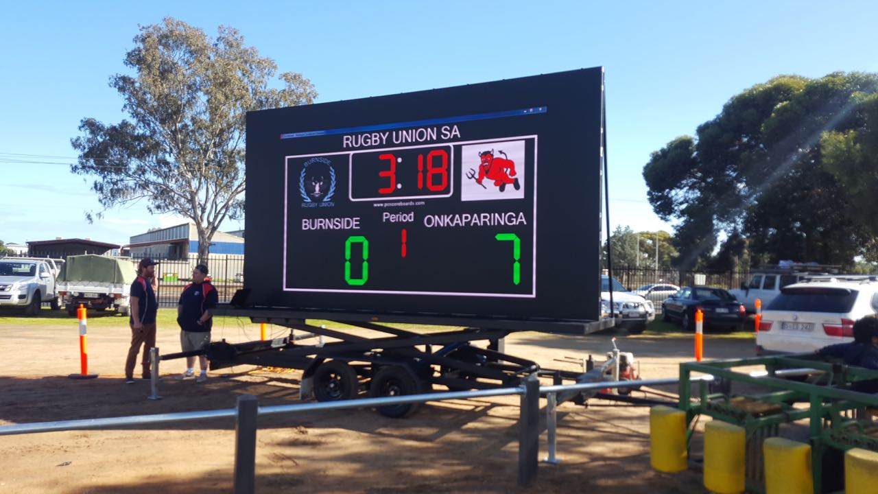 We supplied LED Screens for displaying the scoreboard at the 2017 Grand Finals of SA Rugby Union held in Elizabeth