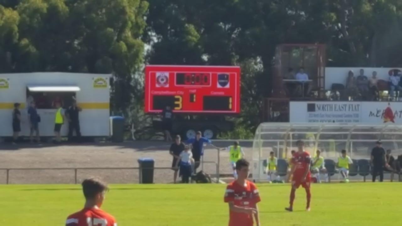 Big Vision Screens 16sqm LED Screen at the Campbelltown City Soccer Club match